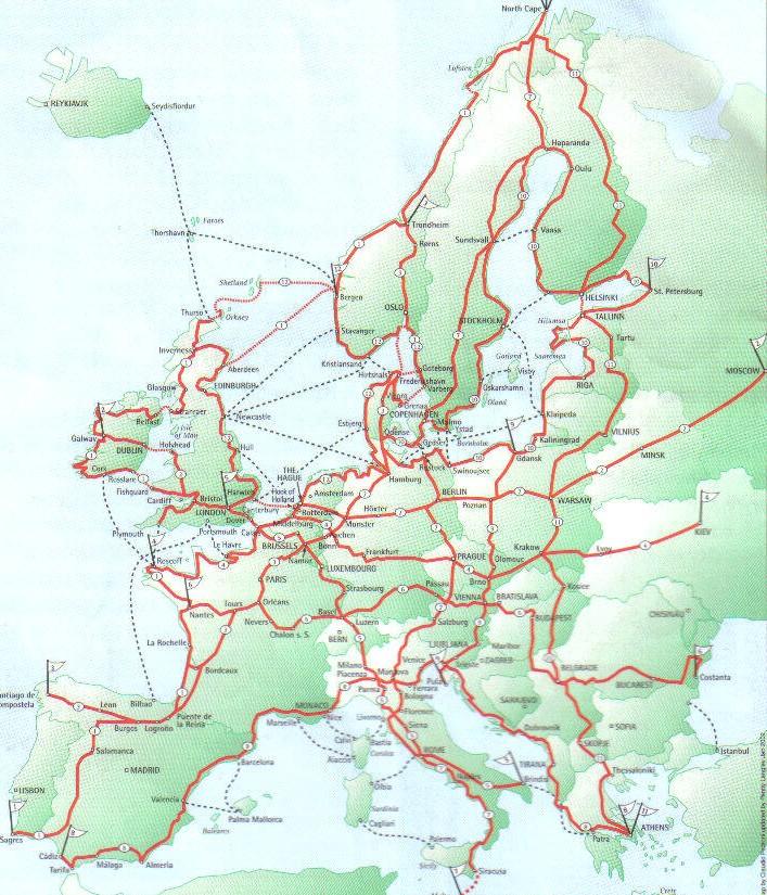 Downloads Fernradwege Europa Fahrradbibliothek Dresden
